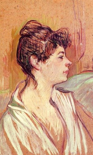 Reproduction oil paintings - Toulouse-Lautrec - Portrait of Marcelle  1893-94