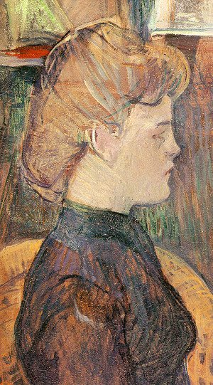 Reproduction oil paintings - Toulouse-Lautrec - The Painter's Model Helene Vary in the Studio 1889