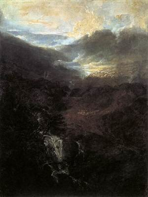 Reproduction oil paintings - Turner - Morning amongst the Coniston Fells 1798