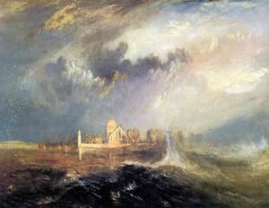 Reproduction oil paintings - Turner - Quillebeuf, at the Mouth of Seine 1833