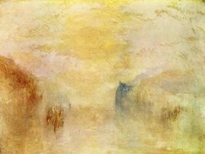 Reproduction oil paintings - Turner - Sunrise Between Two Headlands