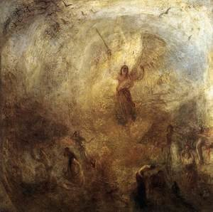 Romanticism painting reproductions: The Angel Standing in the Sun 1846