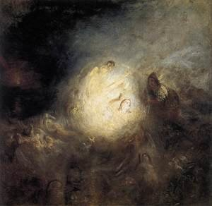 Reproduction oil paintings - Turner - Undine Giving the Ring to Massaniello, Fisherman of Naples 1846