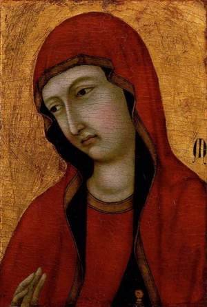 Medieval & Gothic Art painting reproductions: St Mary Magdalen c. 1320