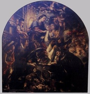Reproduction oil paintings - Juan de Valdes Leal - Miracle of St Ildefonsus 1661