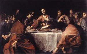 Famous paintings of The Last Supper: The Last Supper 1625-26