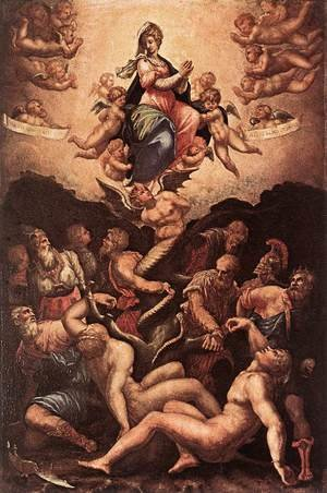 Giorgio Vasari reproductions - Allegory of the Immaculate Conception 1541