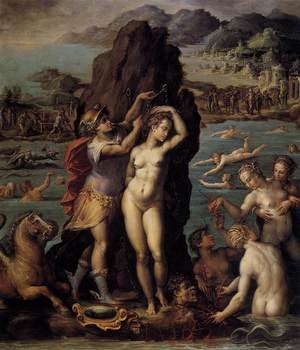 Reproduction oil paintings - Giorgio Vasari - Perseus and Andromeda 1570-72