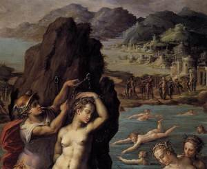 Reproduction oil paintings - Giorgio Vasari - Perseus and Andromeda (detail) 1570-72