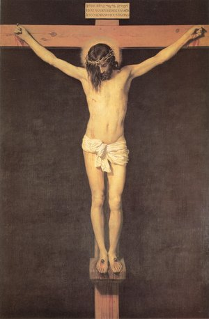Famous paintings of Religion & Philosophy: Christ on the Cross 1632