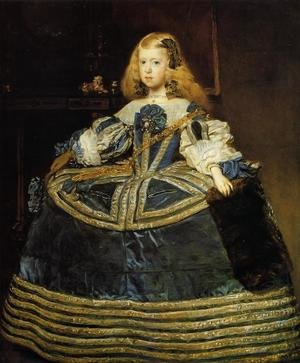 Portrait of the Infanta Margarita c. 1660