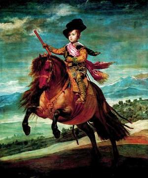 Reproduction oil paintings - Velazquez - Prince Baltasar Carlos on Horseback 1635-36