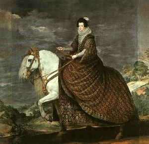 Queen Isabel of Bourbon Equestrian 1634-35
