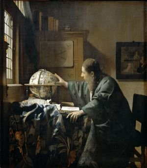 Jan Vermeer Van Delft reproductions - The Astronomer c. 1668