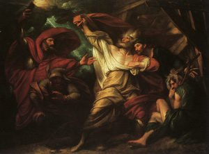 Reproduction oil paintings - Benjamin West - King Lear, 1788