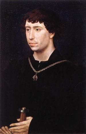Famous paintings of Men: Portrait of Charles the Bold c. 1460