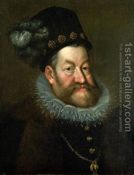 Rudolf II by Hans Von Aachen - Reproduction Oil Painting