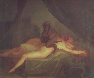 Famous paintings of Devils & Demons: Nightmare 1800