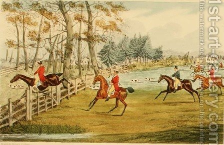 'He's Heart of Oak', from Nimrod's 'Life of a Sportsman' by Henry Thomas Alken - Reproduction Oil Painting