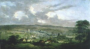 Famous paintings of Villages: Bradford, 1825-33