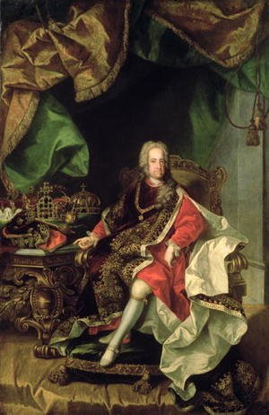 Famous paintings of Furniture: Emperor Charles VI