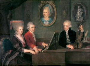 Reproduction oil paintings - Anonymous Artist - Portrait of Leopold Mozart (2)