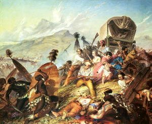 The Battle of Blauwkrantz 1838