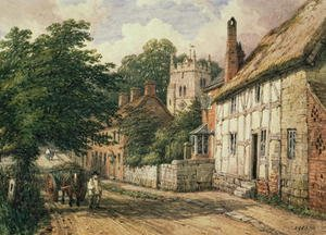 Famous paintings of Villages: Cubbington, Warwickshire