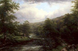 Fishing on the Dee 1861