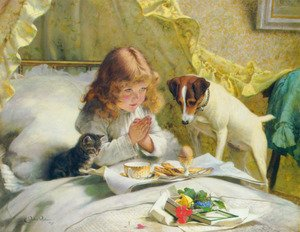 Famous paintings of Domestic Animals: Suspense