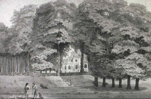 Reproduction oil paintings - Joseph Charles Barrow - Strawberry Hill, Middlesex- the Seat of Lord Orford