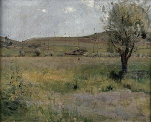 Realism painting reproductions: Summer landscape