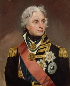 Famous paintings of Men: Lord Nelson