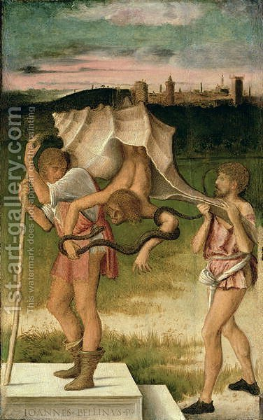 Allegory of Wisdom by Giovanni Bellini - Reproduction Oil Painting