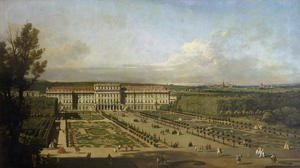 Schonbrunn Palace and gardens, 1759-61