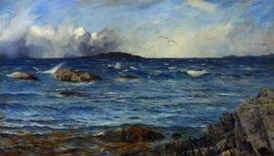 Realism painting reproductions: Across the sea to the island beyond