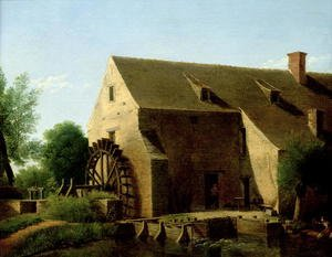 Jean-Victor Bertin reproductions - A Mill, 1800-06