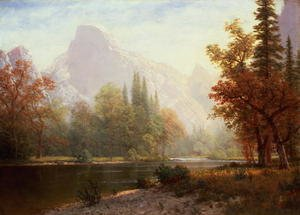 Reproduction oil paintings - Albert Bierstadt - Half Dome, Yosemite