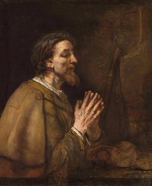 Reproduction oil paintings - Rembrandt - Saint James the Greater