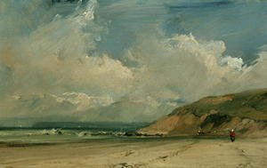 Romanticism painting reproductions: Coastal scene