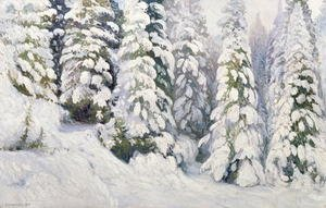 Famous paintings of Seasons: Winter Tale 1913