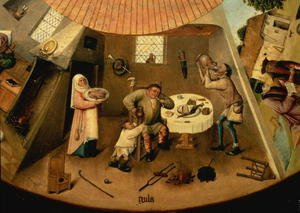 Greed, Scene from the Table of the Seven Deadly Sins