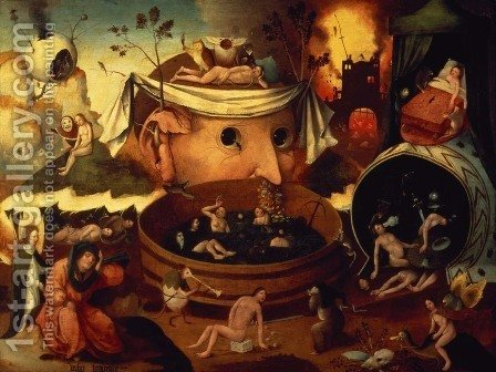 Tondal's Vision by Hieronymous Bosch - Reproduction Oil Painting