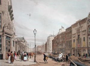 Piccadilly from the corner of Old Bond Street, 1842