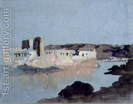 Philae by Hercules Brabazon Brabazon - Reproduction Oil Painting