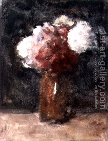 Roses by Hercules Brabazon Brabazon - Reproduction Oil Painting