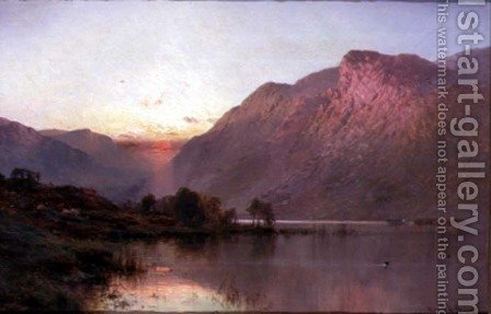 The Falls of Tummel by Alfred de Breanski - Reproduction Oil Painting