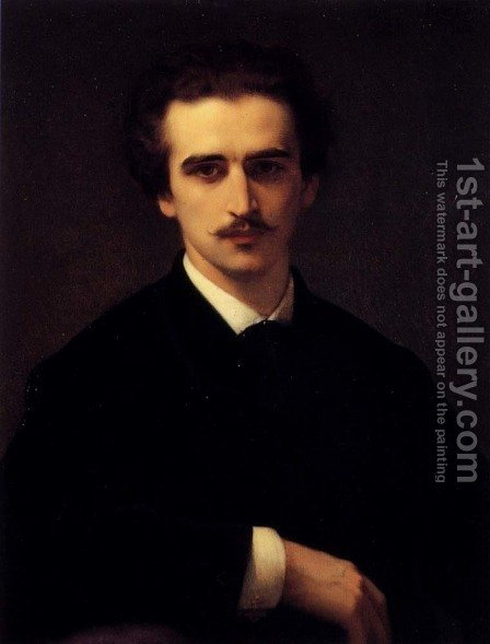 Portrait of Prince K.A. Gorchakov, 1868 by Alexandre Cabanel - Reproduction Oil Painting