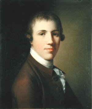 Famous paintings of Men: Portrait of a Young Man