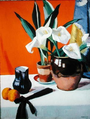 Famous paintings of Fruits: Arum Lilies